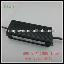 Professional 60W constant current led driver power supply