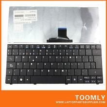 Genuine Laptop Keyboard For ACER ONE 751H ZA3 ZA5,Gateway EC14 LT31,ASPIRE 1410 1810 1830T Laptop SP Layout MP-09B96E0-6982