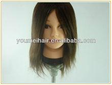 best sell cheap human hair mannequin head