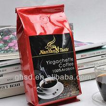 custom coffee bags / sealed coffee bag with valve / printed bag coffee