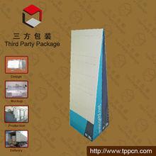 Paper Exhibition Display/peg Hooks Display/cardboard Hanging Display