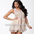 Vente en gros style oriental bon dames robe de princesse robe de soirée en mousseline de soie froissé musulman. p6-07 au liban