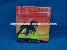 Australia herbal-incense bags/Tropical potpourri smoke zipper bags/Campfire herbal incense bags