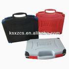Portable blow molded plastic tool box flight cases