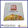 Personalizado Full Colour congelado caixas de Pizza