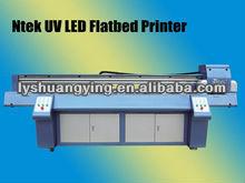 icc based color,curve and density adjustment digital uv flatbed printer with uv flatbed woring bed