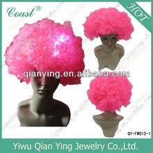 football fan wigs LED fan wigs