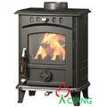 Nuevo diseño de hierro fundido estufa de leña( en13240 certificado)