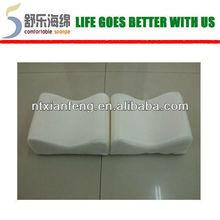 Pain relieved split memory foam leg pillow