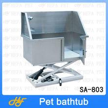Pet Grooming Kit Stainless steel electric lifting bathtub,dog bathtub,pet bathtub SA-803
