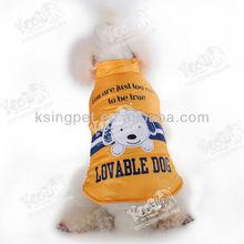 Cute Puppy Theme Dog Skiing Coat