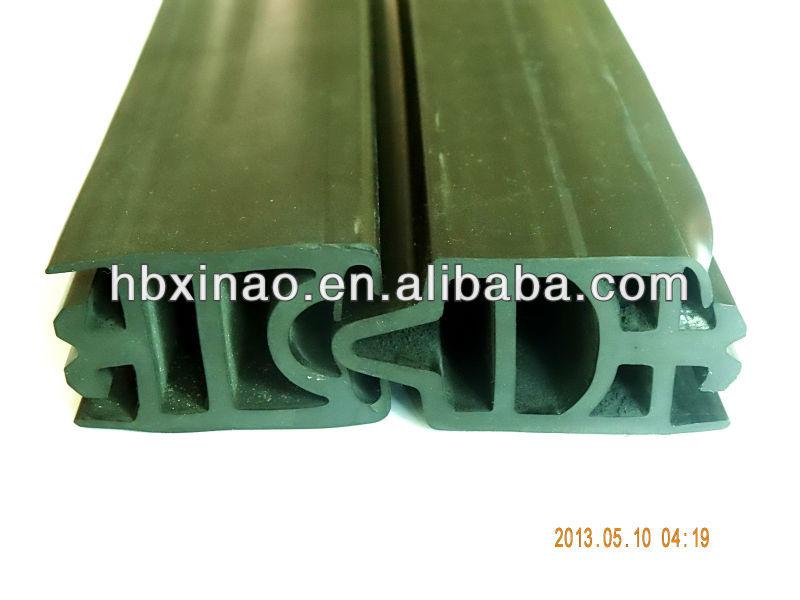 Bridge expansion joint rubber seal strip