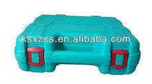 Hard HDPE custom blow mold plastic tool case