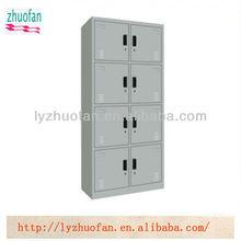 steel foot locker with 8 doors