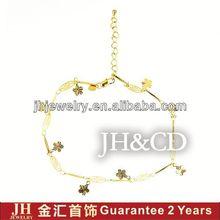 JH 18K Gold Plated Bracelet bracelet+cordon