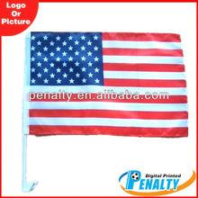 USA flag car windsock flags