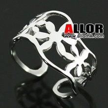 New Design Fashion Custom Jewelry Big Flower Ring