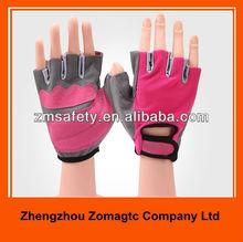 Half Finger Ladies Workout Gloves ZMR1294