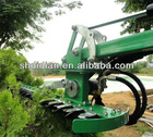 tractor/excavator/backhoe/front loader attached 150cm hedge trimmer/shear/bush mulcher with CE