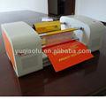 Tj-256 digitale plateless heißfolienprägung drucker für papier und leder