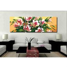 MT3032 / 50*50cm*3 flower digital painting by numbers Menglei