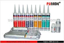GE no smell autoglass polyurethane adhesive sealant,use under 38-45 degree