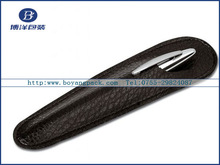 High quality leather bag for pen