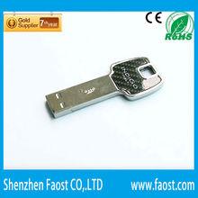 silver bluetooth usb flash drives wholesale wonderful gift key shape usb flash drive in bangkok