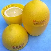 Shenzhen Plastic Fruit shape Lemon Candy Box