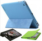 2013 new design good quality leather case for ipad 2/3