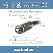 Fiber optic sensor for industry and medical