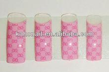 2014 Artificial Fingernails Nail tips/fashion nail art tips nail art pump top