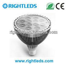 high power led par spot light 12w e27 base