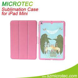 Hot sale pu case for ipad mini