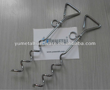 Anchor Stake for Dog Chrome Plated