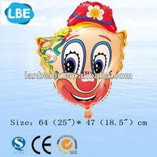China wholesale head shaped clown balloon