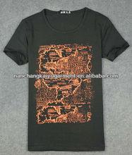 95 cotton 5 spandex men t shirts