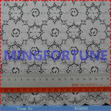 Big Flower Knit Nylon Lycra Digital jacquard on Fabric