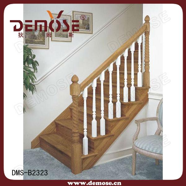 Indoor Wood Railing Designs View Round Wood Handrail