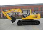 Korea hydraulic system super wide frame X type 0.52CBM bucket 92KW Yuchai engine 14tons hydraulic crawler excavator (WY150)