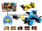 Hot sale new design rc deformation car toy radio control car