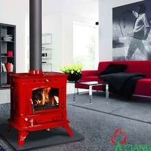 Ciang wood and pellet cast iron stove(CE EN13240 certified)