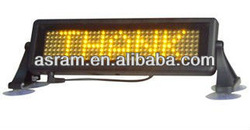 taxi top led display, Car magnets led traffic lights car roof top advertising shockproof light,wireless taxi led top light sign