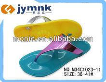 2013 PVC Ladies Jelly blue Flip Flop