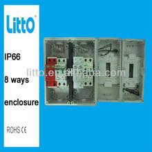 8P IP66 weatherproof enclosure