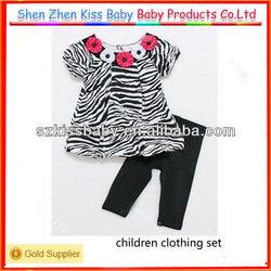 2pcs 2013 b2w2 children clothing set