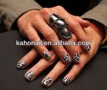 2014 Artificial Fingernails Nail tips/fashion nail art accessories clear nail top coat