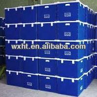 plastic handles corrugated boxes