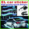 High brightness popular design equalizer el car sticker