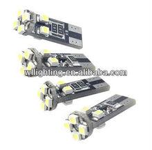 T10 194 168 501 W5W 8 SMD 1210 Canbus No Error Car turn signal light Rear Light